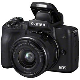 Canon EOS M50 Mirrorless Camera With EF-M 15-45mm IS STM Lens - Black Thumbnail Image 3
